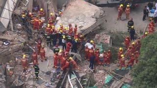Five dead in Shanghai building collapse: city govt