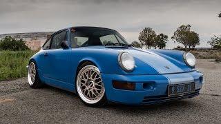 Modified Porsche 964 Review - 3.8, BBS, Recaro, Custom Paint and Interior!