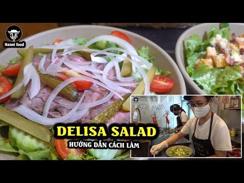 Salad và cách chế biến đơn giản từ hướng dẫn của đầu bếp nhà hàng