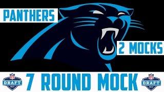 2017 Carolina Panthers 7 Round Mock Draft - 2017 NFL Mock Draft 7 Round NFL Mock Draft Panthers Mock 2017 Video