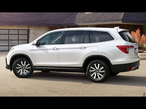 2019 Honda Pilot Facelift - First Look