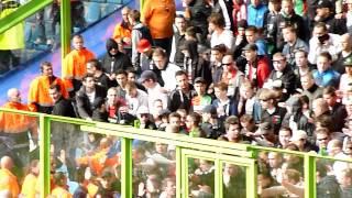 Nec Supporters Zorgt Voor Onrust In Uitvak Vitesse