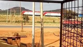 The longest cargo train in Kenya