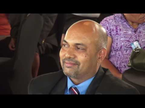 Fijian Attorney General, Aiyaz Sayed-Khaiyum opens Ministry of Education's Planning Workshop