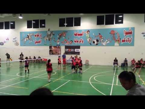 Al Reem vs El Malditas - 1st Set