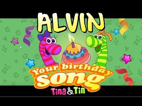 Tina & Tin Happy Birthday ALVIN
