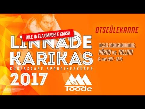 Kuressaare vs Pärnu (meeste poolfinaal) - Linnade Karikas 2017