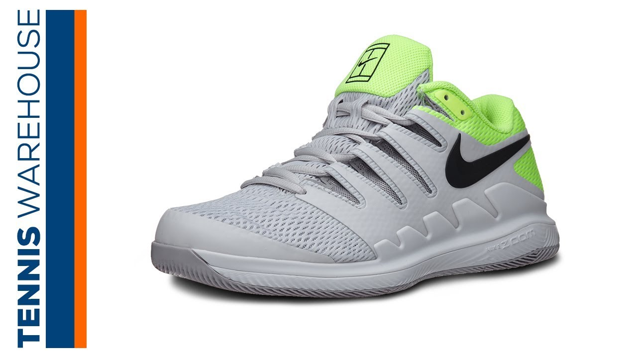 práctica Firmar plato  Nike Air Zoom Vapor X Men's Tennis Shoe Review - YouTube