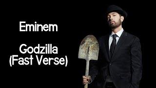 Eminem - Godzilla (Fast Verse)