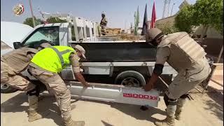 جهود قوات حرس الحدود خلال الشهر الماضى على كافة الإتجاهات الإستراتيجية للدولة