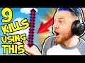 THE KNOCKBACK STICK CHALLENGE in BEDWARS!! W/AshDubh