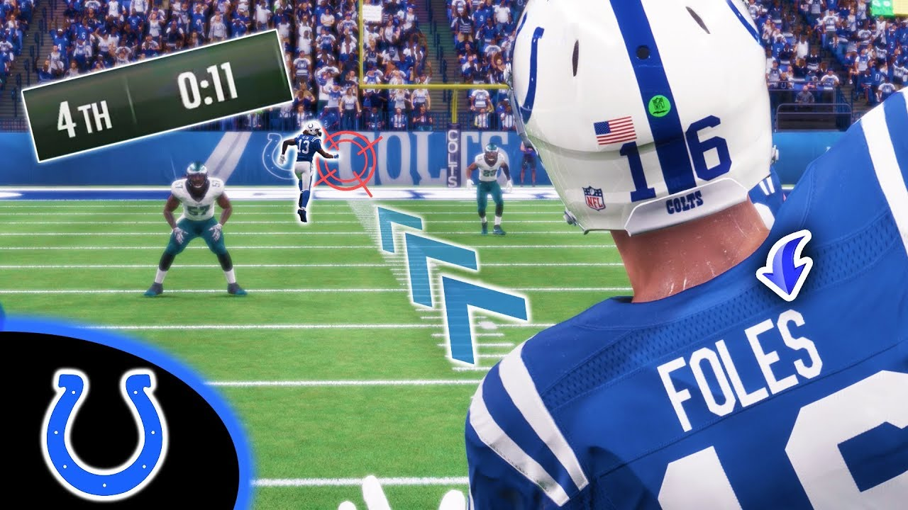 STARTING NICK FOLES AGAINST HIS FORMER TEAM! Madden 18 Colts Connected Franchise Ep. 27 (S2)
