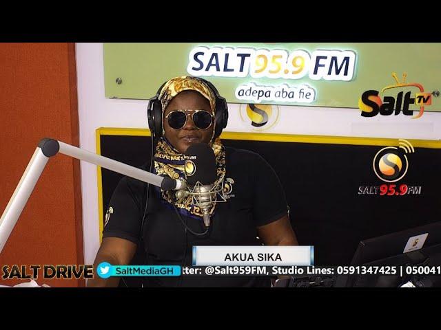 LIVE | SALT DRIVE WITH AKUA SIKA || 23/04/21