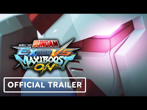 Mobile Suit Gundam Extreme VS. Maxiboost On - Official Announcement Trailer