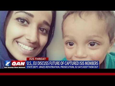 U.S., EU discuss future of captured ISIS members