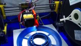 3D печать прототипа катушки.(Prusa I3, 3D печать, E-Sun, прототипирование., 2014-12-25T23:32:10.000Z)
