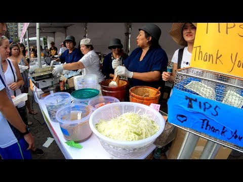 ⁴ᴷ⁶⁰ Walking NYC (Narrated) : Experience Thailand Festival at Union Square (September 8, 2019)