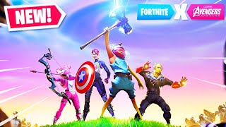 *NEW* AVENGERS ENDGAME GAMEPLAY in Fortnite!