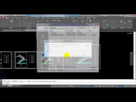 AutoCAD - Trình bày bản vẽ nhiều tỉ lệ bằng Layout trong AutoCAD