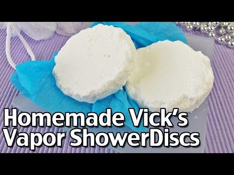 How To Make Homemade Vick's Vapor Shower Discs