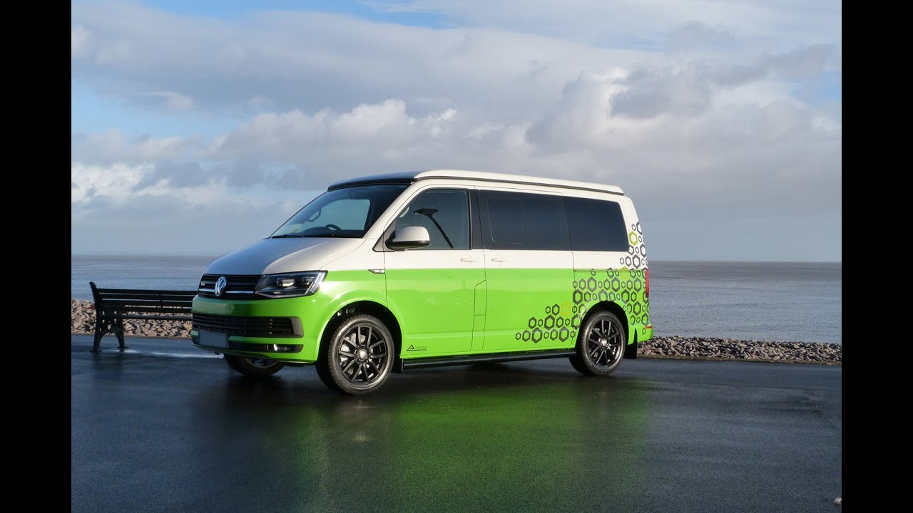 Autohaus White And Green Camelot VW T5 Campervan