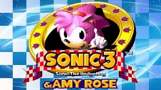 Sonic 3 and Amy Rose   Walkthrough