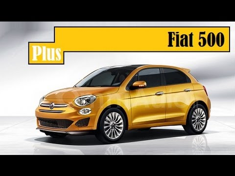 fiat 500 five door rendered as a replacement for the. Black Bedroom Furniture Sets. Home Design Ideas