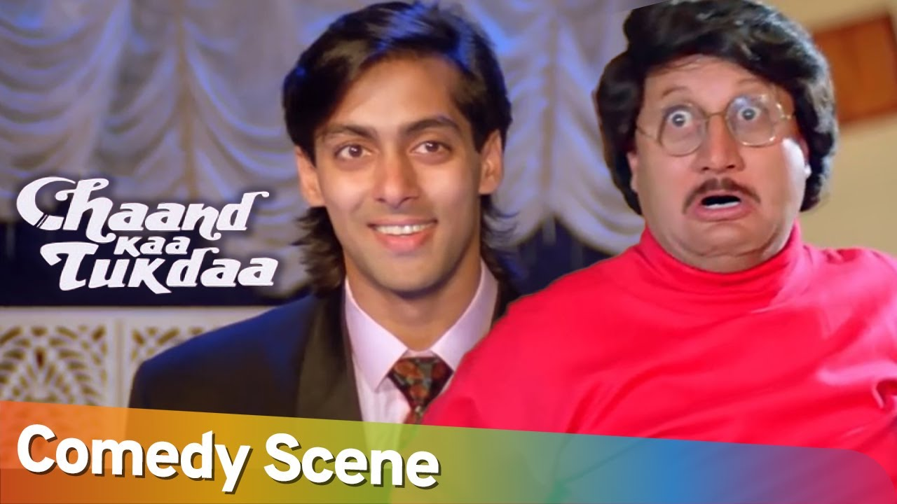 Best of Comedy Scene | Superhit Movie Chaand Kaa Tukdaa | Salman Khan - Mehmood - Sridevi