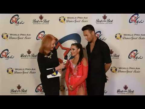 World ProAm DanceSport Series Junior International Latin 4-Dance Teen Champions