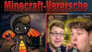 Die Minecraft-Verarsche von SkyGuy und Phorx...