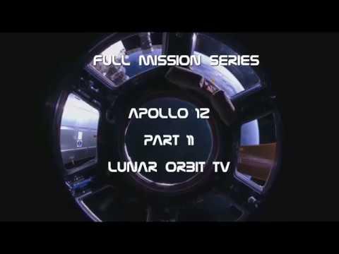 Apollo 12 - Lunar Orbit TV (Full Mission 11)