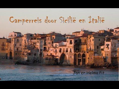 Camperreis door Sicilë en Italië 2017