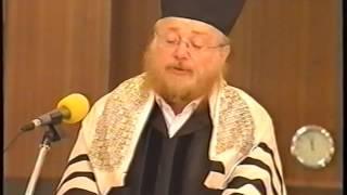 סליחות 2008 החזן חיים אדלר בביהכנ''ס הגדול בת''א. Slichot 2008 in tel aviv Great Synagogue