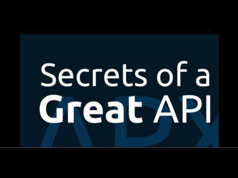 Secrets of a Great API