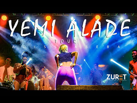 Yemi Alade concert Live in Addis Ababa