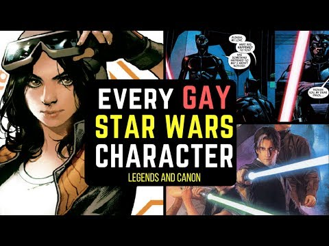 Every Gay Star Wars Character | Star Wars Legends And Canon