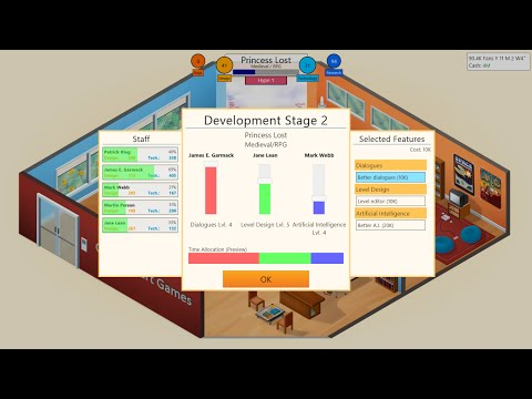 Games similar to Game Dev Tycoon