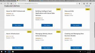 Microsoft Azure: API management demo