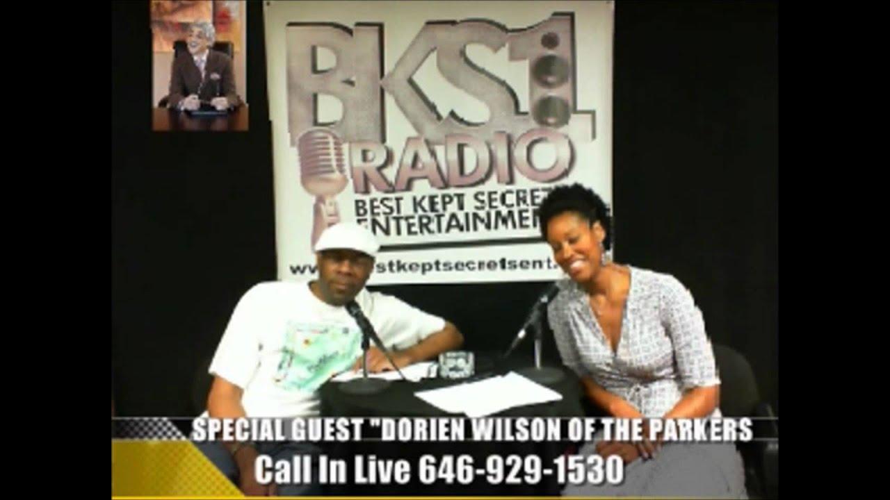 DORIEN WILSON OF MONIQUE'S SHOW THE PARKERS ON BKS1 RADIO PT2