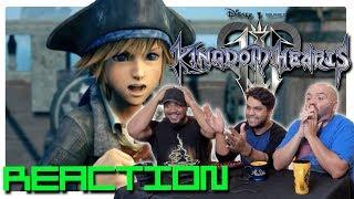 E3 2018 Kingdom Hearts 3 Pirates Of The Caribbean Trailer   REACTION