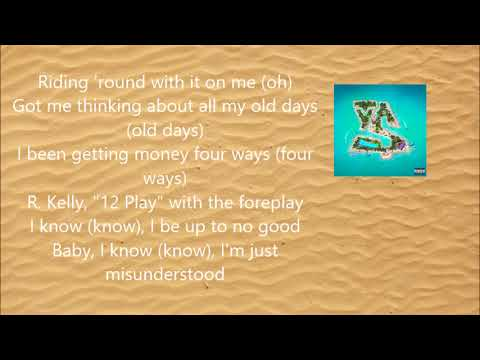 Ty Dolla $ign - Ex ft. YG (Lyric Video) [BEACH HOUSE 3]