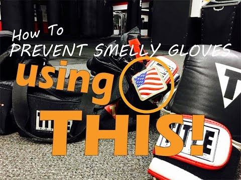 How To Clean Your Boxing Gloves! DO THIS FIRST!!! #1 Boxing and MMA product!
