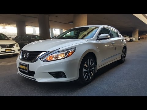 2016 Nissan Altima SL w/Technology Package Complete Feature Walkthrough