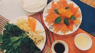 Ngày thứ 2 ở Sapa - Đi Fansipan & Ăn Gỏi Cá Hồi Siêu Ngon - Sapa Vlog #5 | Truc Thanh HT