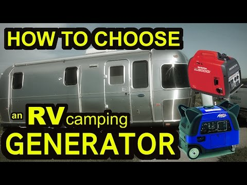 How to Choose a GENERATOR for RV Camping