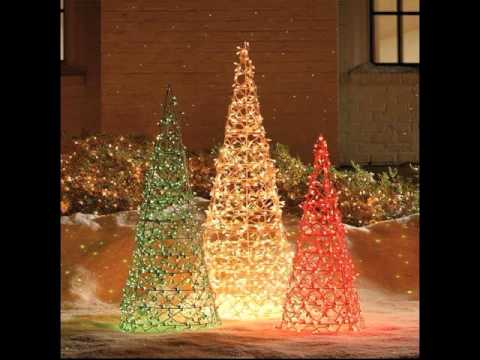 50 best outdoor christmas decorating ideas 2015 - Simple Outdoor Christmas Decorations