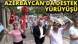 Azerbaycan'da ABD'nin Türkiye'ye Yönelik Yaptırımları Protesto Edildi