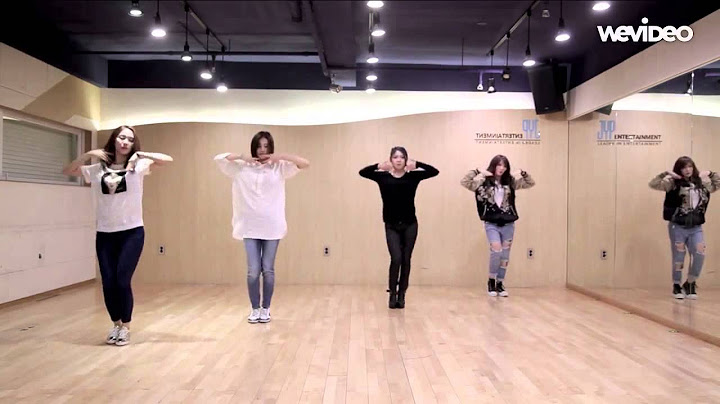 hd miss a  only you mirrored dance practice