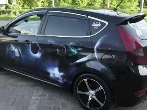 Тюнинг Хендай Солярис -- Tuning Hyundai Solaris