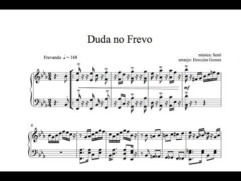"<span class=""title"">Duda no Frevo |Senô, arr  Hercules Gomes| VIDEOPARTITURA</span>"